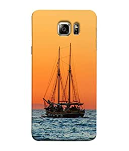 PrintVisa Designer Back Case Cover for Samsung Galaxy S6 G920I :: Samsung Galaxy S6 G9200 G9208 G9208/Ss G9209 G920A G920F G920Fd G920S G920T (Reflection Settlement Landscape Horizon Adriatic Colorful Beautiful Lections)