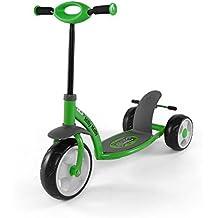 Patinete scooter patinete para niños infantil patinete para niños - 5 coloures (verde)