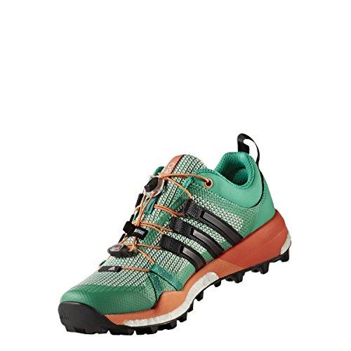 adidas Terrex Skychaser W, Scarpe da Escursionismo Donna Verde (Verbas/Negbas/Narsen)