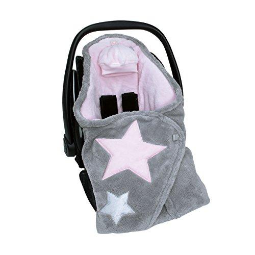 Preisvergleich Produktbild Bemini by Baby Boum 392STARY54SF Decke Biside Softy Stary Cristal, 90 x 90 cm, rosa