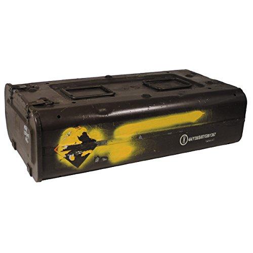 MFH gebrauchte Britannique munitions Caisse US Army 78 x 42 x 22 cm Boîte à outils en métal Boîte GC cachette Boîte en métal