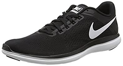 Nike Damen Wmns Flex Contact Traillaufschuhe, Schwarz (Black/White 002), 38 EU