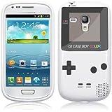 Phone Cases Coque en gel pour Samsung Galaxy S3 Mini motif GameBoy Blanc