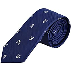 Enjoymore El crš¢neo del ancho de los hombres 6CM modelš® corbatas (Navy)