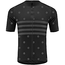 Uglyfrog 2018 Primavera Verano Hombres Ropa ciclismo Maillot mangas Corto Camiseta de ciclistas + Babero Pantalones Cortos de Bicicletas Cuerpos Triatlón Ropa MESTZ19