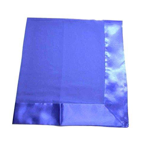 Avantgarde stola elegante da donna balza e bordi in raso lucido stole cerimonia colore blu royal