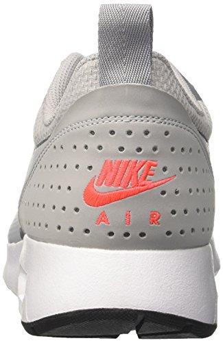 Nike Air Max Tavas Se, chaussons d'intérieur homme Gris (Wolf Grey/wolf Grey/cool Grey/bright Crimson)