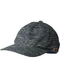 7650f313d0b6b7 Kangol Men's Pattern Flexfit Baseball Cap HAT, Navy Marl, L/X-L