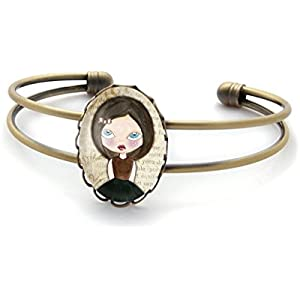 Armband mit cabochon ° kleines Mädchen °