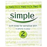 Simple Pure Soap for Sensitive Skin Twin...