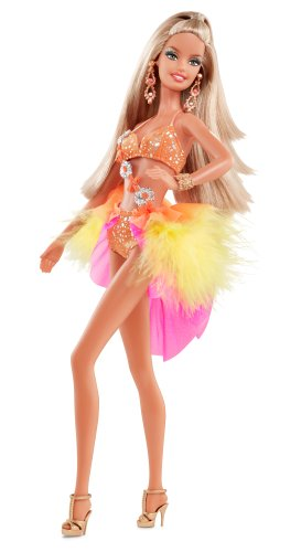 Mattel Barbie W3317 - Collector Dancing with the Stars Samba Doll, Sammlerpuppe