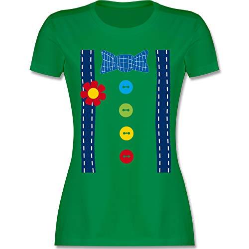 Kostüm Joker Baby - Karneval & Fasching - Clown Kostüm blau - XXL - Grün - L191 - Damen Tshirt und Frauen T-Shirt