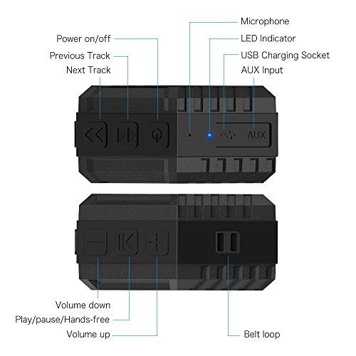 Altavoz Impermeable para Exterior con Bluetooth