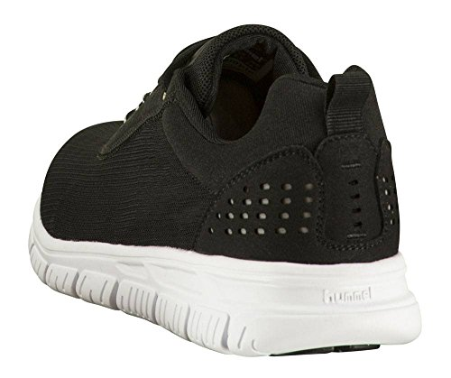 Hummel Cross Lite Dot 4 Sneaker in Bianco e Nero Black