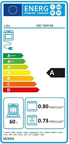 Top Gas Herdset Autark Markengeräte/ Cata Einbau Elektro Backofen 60L  ZL91