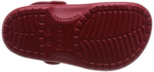 Crocs Classic Kids, Sabots Mixte Adulte Rouge (Pepper)