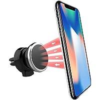 Power Theory Magnet Handyhalter fürs Auto - Handyhalterung Auto Lüftung Handy Halter für iPhone XS Max X 8 7 Plus 6s 6 SE 5s Samsung Galaxy S9 S8 S7 S6 Smartphone Halterung Universal Autohalterung