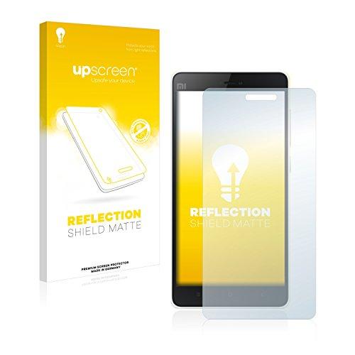 upscreen Entspiegelungs-Schutzfolie kompatibel mit Xiaomi Mi 4c - Anti-Reflex Bildschirmschutz-Folie Matt