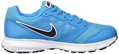 Nike Downshifter 6, Chaussures de Running Compétition Homme Multicolor (BLUE LAGOON / BLACK / WHITE)