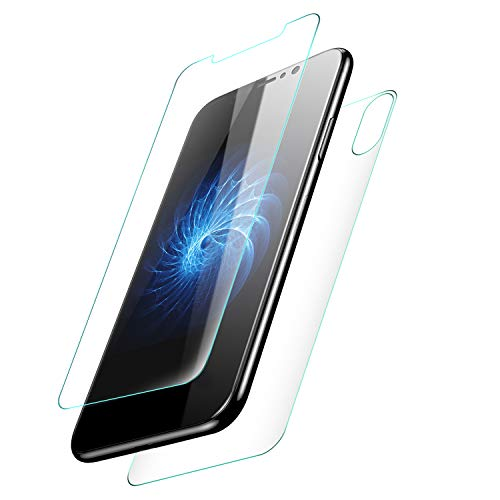 KuGi iphone XS Max,iPhone XS Max Protection Ecran,iPhone XS Max Ultra Résistant Film Protection écran Glass [Dureté 9H] Screen Protector...