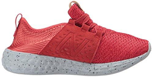 New Balance Kjcrzpkg, Chaussures de Fitness Mixte Adulte rouge/gris