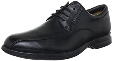 Clarks  General Over5, Derby homme - noir - Cuir noirci, 48 EU