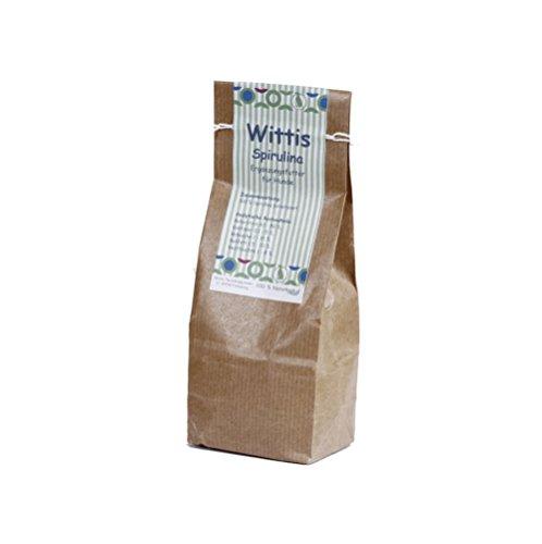 Wittis Supplement Spirulina pur 150g, Futterergänzungsmittel für Hunde und Katzen,