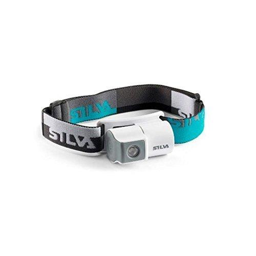 Silva Unisex grigio bianco Jogger Sport all' aperto torcia da fronte leggera e accessori, Grigio/Bianco, Taglia unica