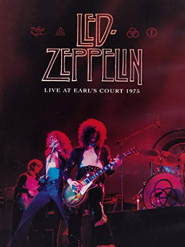 Led Zeppelin Live at Earl's Court, 1975 -