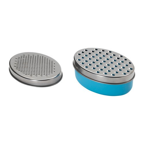 IKEA CHOSIGT - Grater With Container, Blue