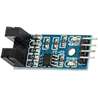 Morza Ranura de Tipo IR optocoupler Velocidad del módulo del Sensor LM393 para Arduino