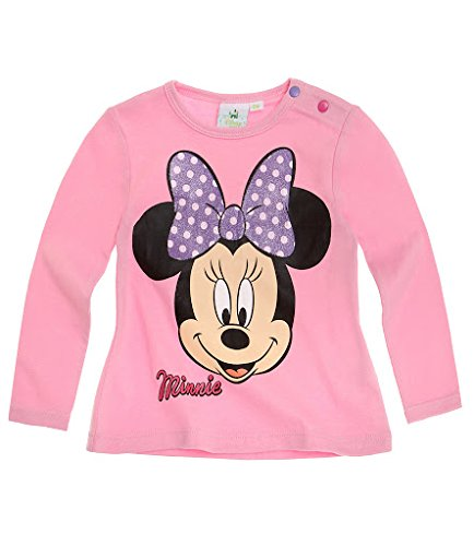 DISNEY MINNIE MOUSE (Minnie Maus) Babies Langarmshirt - Motiv