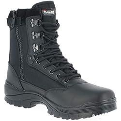 Mil-Tec Tactical Side Zip Botas Negro tamaño