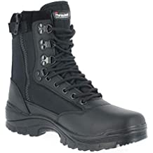 Mil-Tec Tactical Side Zip Botas Negro tamaño 9 UK ...