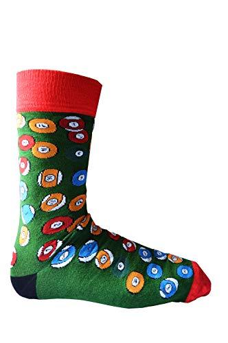 Mens-Wow-Snooker-Ball-Bamboo-Rich-Novelty-Fun-Design-Socks