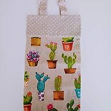 Guarda bolsas de tela vintage París: Amazon.es: Handmade