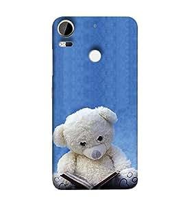 YuBingo HTC Desire 10 Pro Designer Phone Back Case Cover ( Teddy Bear Reading )