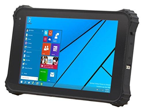 Logic Instrument Fieldbook K80-2 20,32 cm (8,0 Zoll) Tablet-PC (Intel Atom Z3735F, 2GB RAM, 64GB HDD, Win 10 Pro Touchscreen) grau