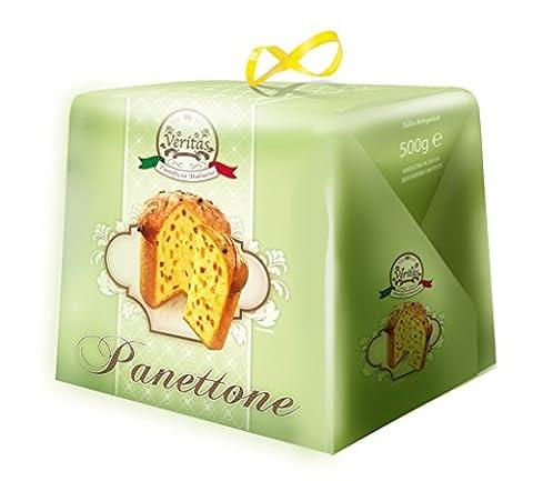 Veritas - Panettone Weihnachtskuchen Weihnachtsgebäck italienisch Süßspeise fruchtig - 500g