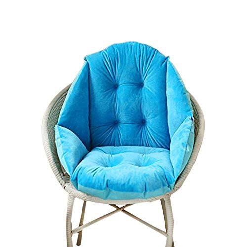 Cojín del asiento, silla de moda nido sentado Tejido a interior y exterior...