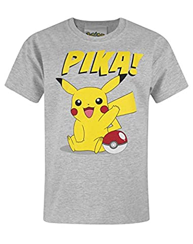 Official Pokemon Pika Boy's T-Shirt (7-8 Years)