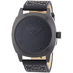 Superdry Sobek L Unisex Analogue Watch with Black Dial Analogue Display