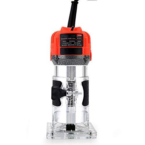 Fresadora horizontal 650W 30000 RPM - Máquina de carpintería para el recorte eléctrico Grabado electromecánico Fresadora de madera Máquina de corte de cobre