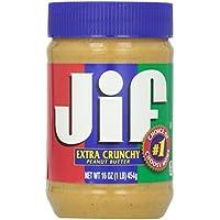 JIF Erdnußbutter Extra Crunchy 454 g