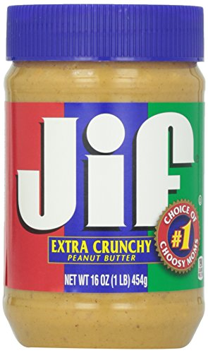 Jif Beurre de Cacahuète/Éclats de Cacahuètes 454 g
