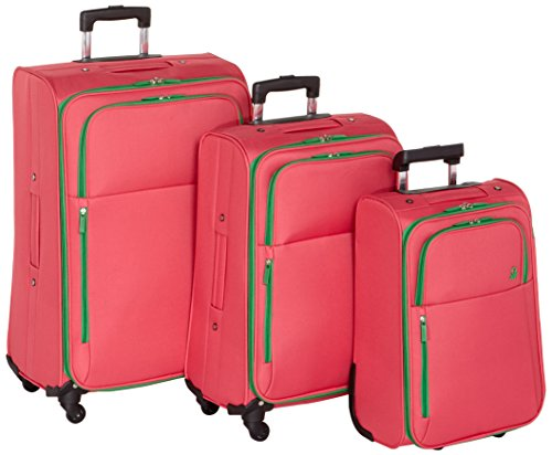 benetton-lote-de-3-maletas-con-ruedas-underscore-58073313-rojo-18-l