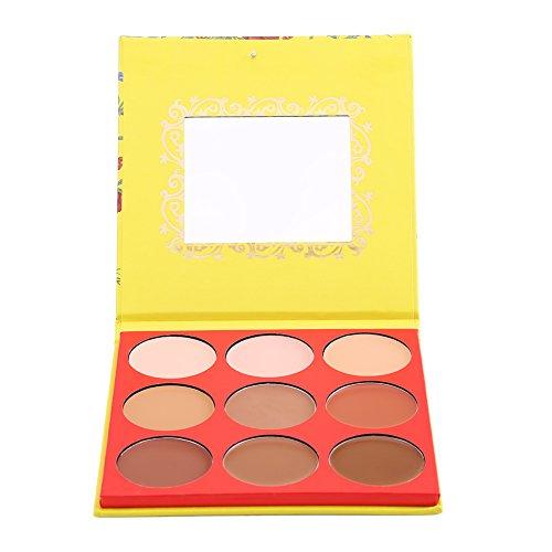9 Farben Haut Whitening Aufhellung Öl Concealer Palette Schönheit Kosmetik