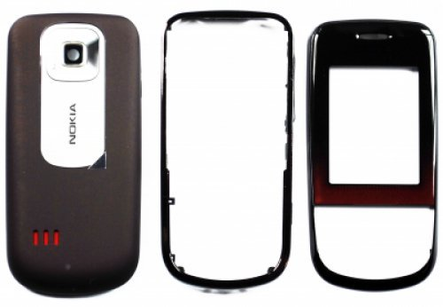 Guscio per Nokia 3600 Slide Red (Front+B.C+Lens) (Original) Nokia 3600 Slide