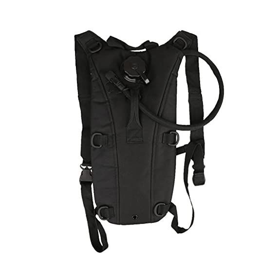 Imported 2.5L Hydration Bladder Water Bag Pouch Backpack Outdoor Hiking Camping Black
