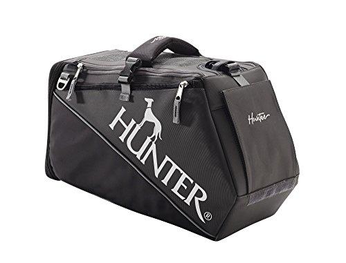 Hunter Tragetasche Skien für Hunde und Katzen bis 8 kg, 24 x 20 x 30 cm, schwarz